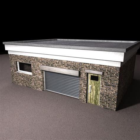 3d garage garage 3d model