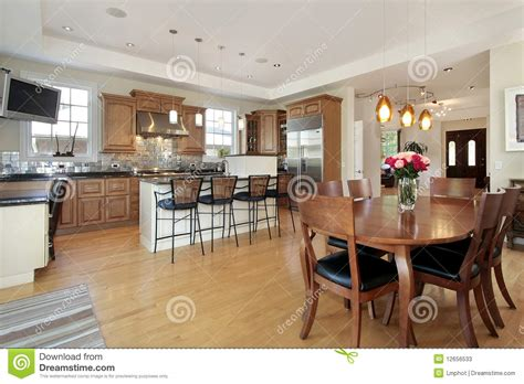 eating area kitchen and eating area stock photos image 12656533