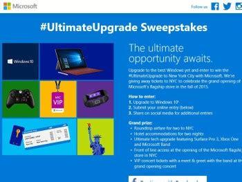 Windows 10 Giveaway - windows 10 ultimate upgrade sweepstakes sweepstakes fanatics