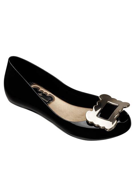 black flat shoes with buckle vivienne westwood ultragirl buckle flat shoes black