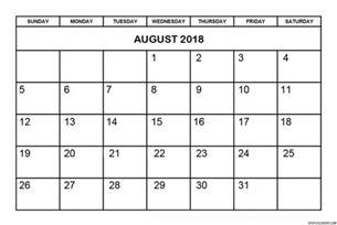 august 2018 calendar designs images templates