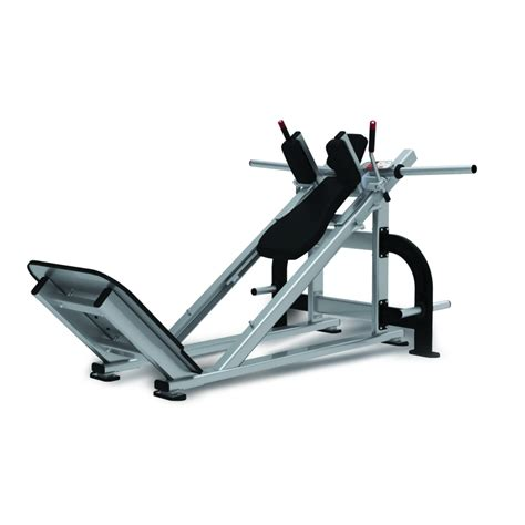 loaded hack squat trac equipment