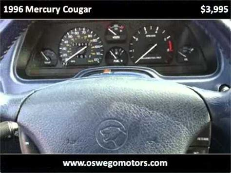 free online auto service manuals 1996 mercury cougar on board diagnostic system 1996 mercury cougar problems online manuals and repair information