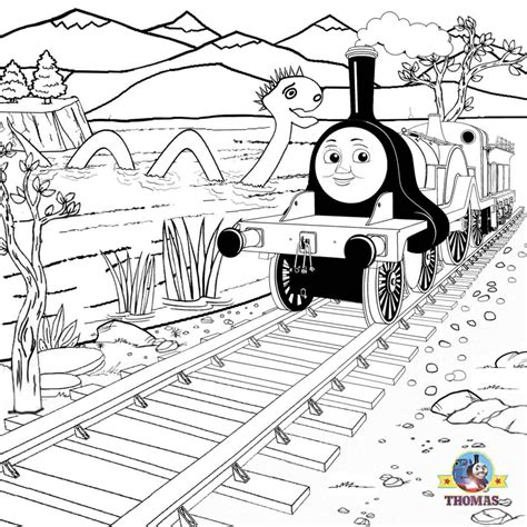 emily train coloring page free emily thomas coloring pages
