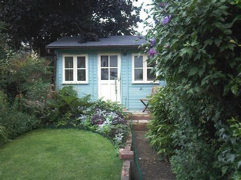 pretty garden office shed