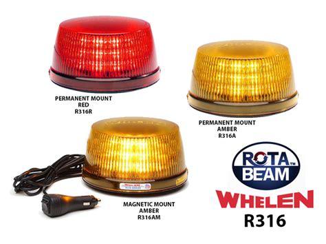 whelen rota beam light bar whelen r316 rota beam super led beacon series from swps com