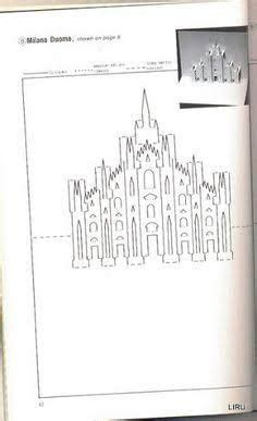 kirigami card templates pdf 40 best origamic architecture patterns images on