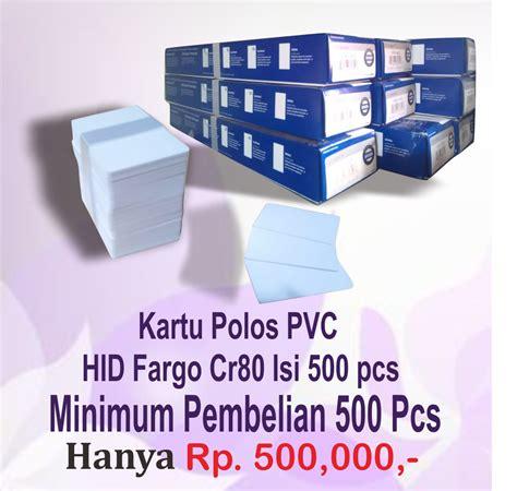 Kartu Id Card Blank Hid Noco Cr80 Isi 100pcs kartu pvc polos