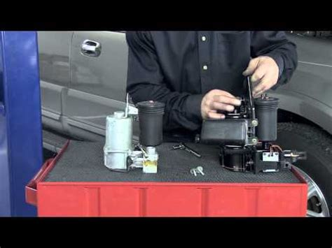 how to change air suspension compressor 2004 lincoln