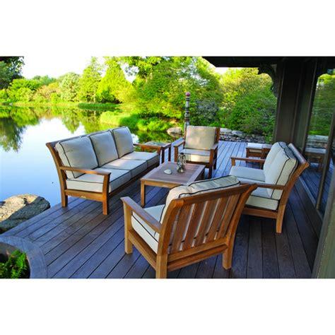 kingsley bate  chelsea deep seating settee discount