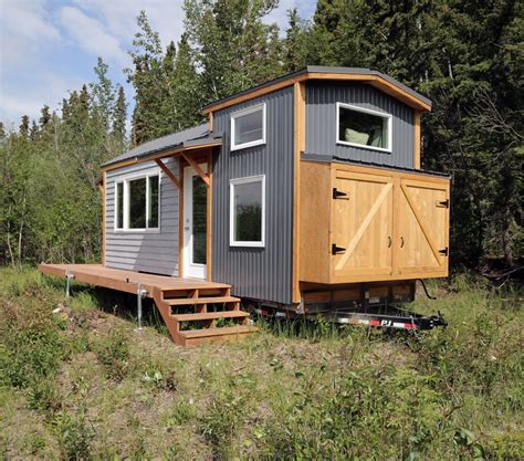 tiny house with white quartz tiny house free tiny house plans