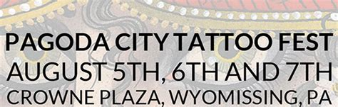 pagoda city tattoo fest 2016 pagoda city reading pa laser