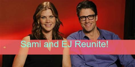 days of our lives dool spoilers sami realizes ej may be days of our lives dool spoilers sami and ej reunite
