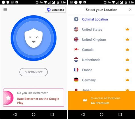 better app android top 10 des applications vpn pour mobiles android ios