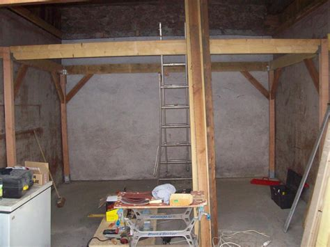 Garage Mezzanine by R 233 Alisation D Une Mezzanine Dans Un Garage R 233 Alis 233 Par G