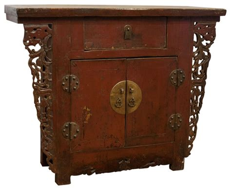 cabinet with original hardware and lacquer