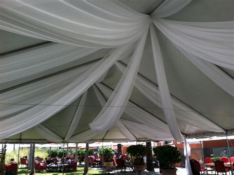 draping creations transforming an outdoor tent with fabric swags amazing