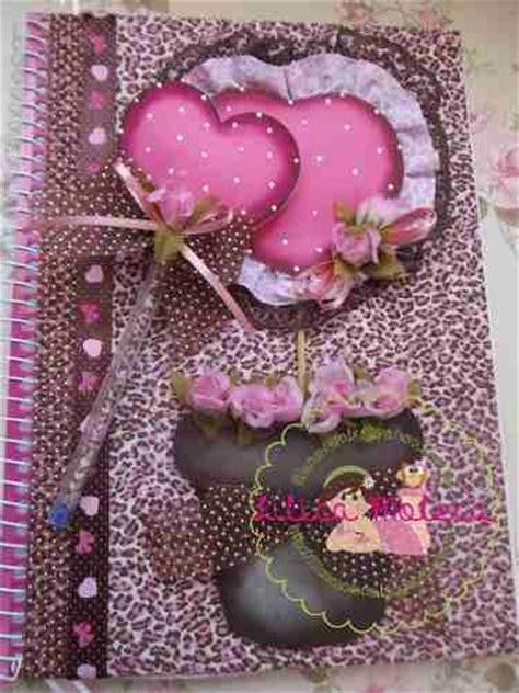 cuadernos decorados de tela 17 mejores im 225 genes sobre cuadernos decorados en pinterest
