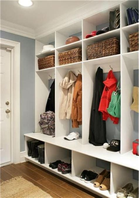 Garage Mudroom Designs 75 clever hallway storage ideas digsdigs