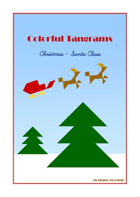 printable christmas tree tangram colorful tangrams christmas tangram patterns