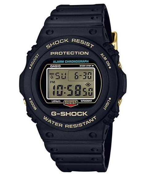 Casio G Shock Dw 056rts Second Batangan g shock 35th anniversary origin gold back collection dw 5035d 1b dw 5735d 1b gf 8235d