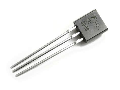 transistor pnp bjt 2n3906 pnp transistor solarbotics