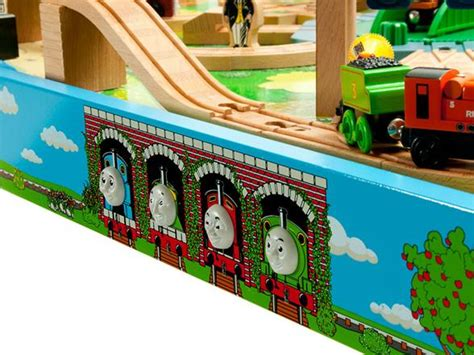 And Friends Tidmouth Sheds Deluxe Set by Friends Wooden Railway Tidmouth Sheds Deluxe Set With Island Of Sodor Play Table