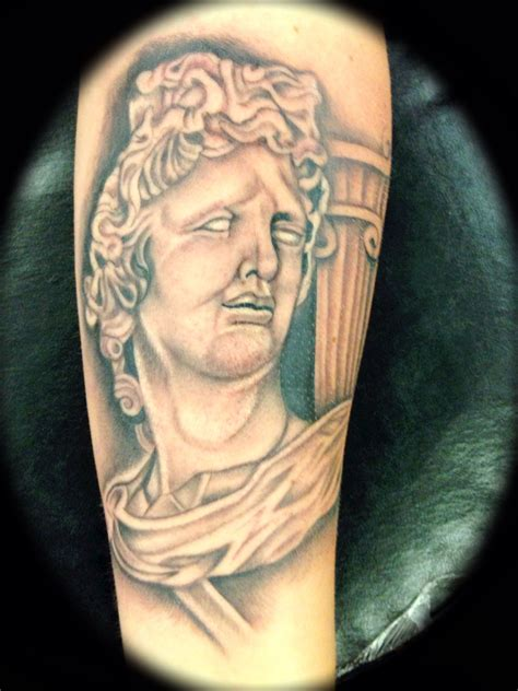 tattoo pictures god apollo greek god tattoo tattoos by gary stephens