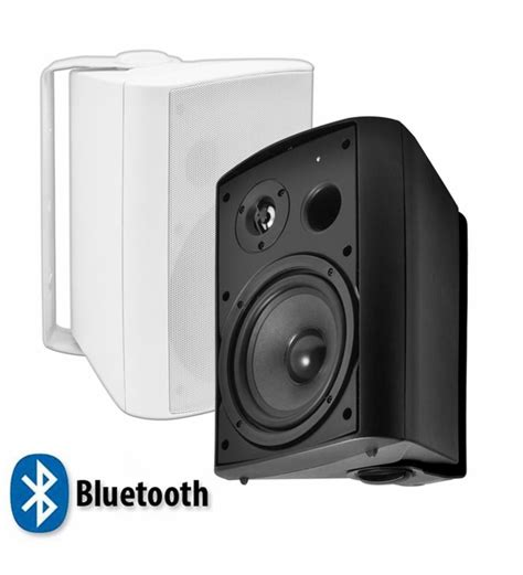Patio Bluetooth Speakers by Btp 650 Wireless Bluetooth Patio Speaker Pair