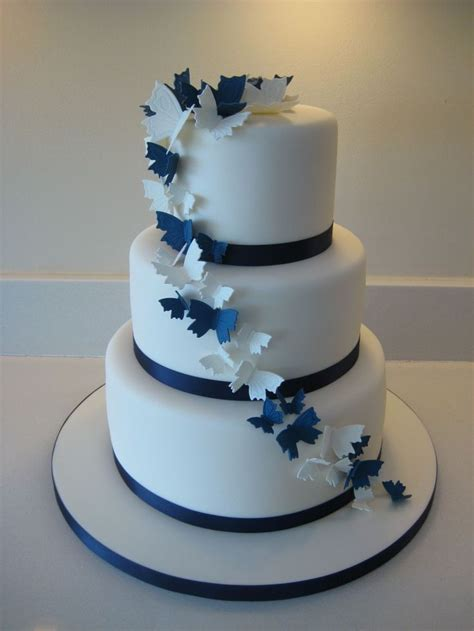 Wedding Cake Navy by 17 Best Ideas About Navy Wedding Cakes On Blue
