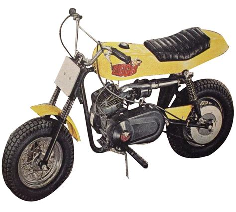 nifty   rupp digger mini bike sold  jc penneys manu