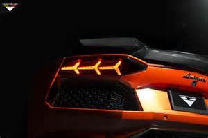 Lamborghini Aventador Back Lights Vorsteiner Lamborghini Aventador Lp 740 Rear Light