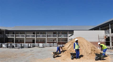 Mba Programs Worcester Ma by New Zwelethemba Secondary School Nearing Completion