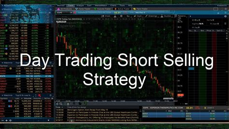 pattern day trader ameritrade step by step day trading short selling strategy
