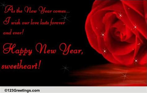 a romantic new year wish free love ecards greeting cards