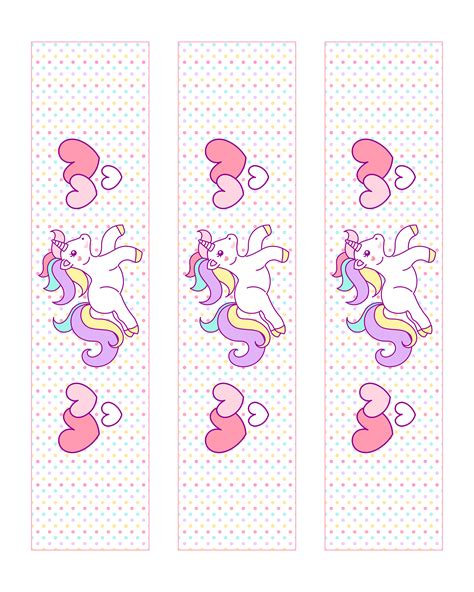 Free Printable Unicorn Party Decorations Pack The Cottage Market Unicorn Label Template