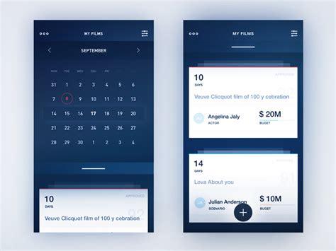 design calendar app calendar design inspiration muzli design inspiration