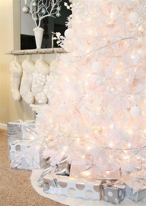 decorar un arbol de navidad blanco ideas para decorar un 225 rbol de navidad blanco