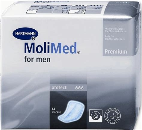 number one comfort food for men molimed for men protect pads 14 x 12 168 pads product