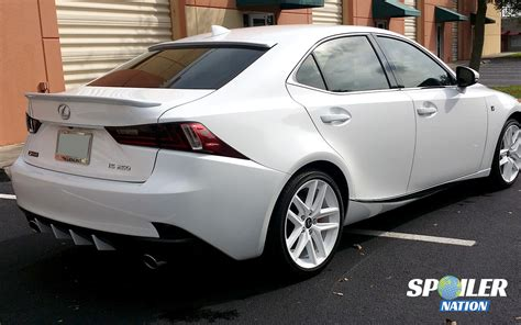 lexus is250h 2014 2016 lexus is250 is350 sport style rear trunk spoiler