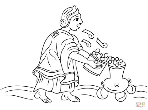 aztec coloring page sheets coloring pages