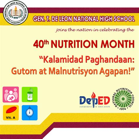 theme for education month 2014 the journey of a brave teacher nutrition month 2014 banner