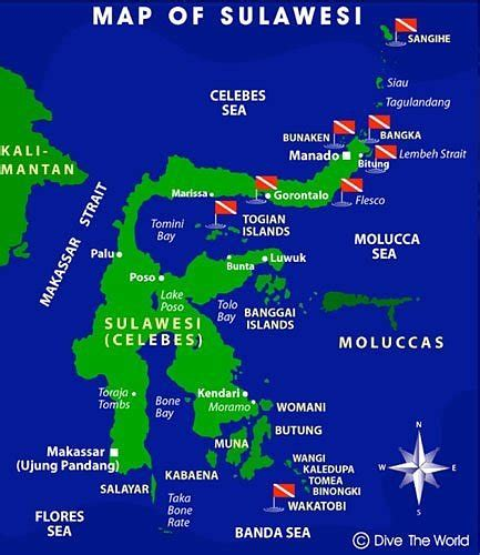 ferry gorontalo togean map route togean togean islands