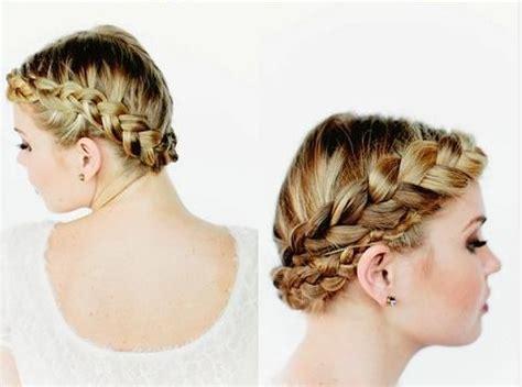 new braid tutorial the high braided crown hairstyle gorgeous crown braided hairstyles tutorials long