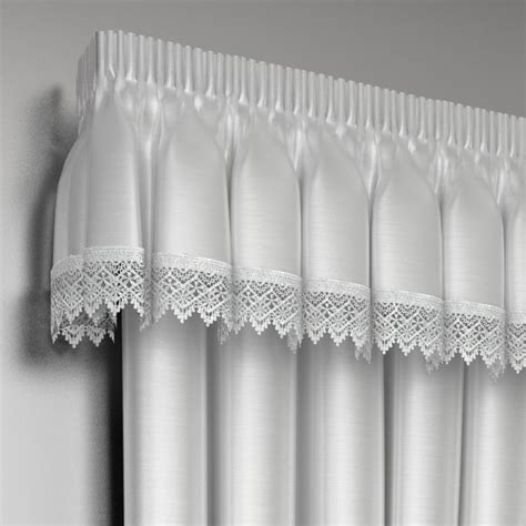 lined lace curtains lined lace embroidered pelmet valance tony s textiles