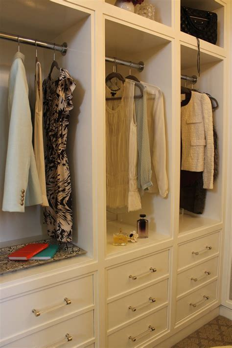 hanging with drawers on the bottom closet ideas