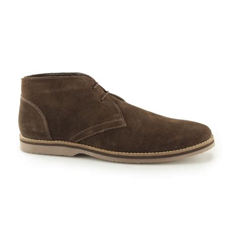 mens leather chukka boots sale hush puppies spencer chukka mens lace up boots brown buy