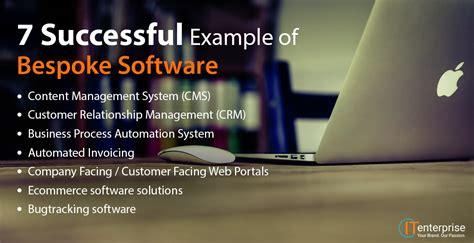 successful   bespoke software  enterprise