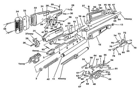 mossberg 500 parts diagram mossberg parts diagram enticing reference atp question