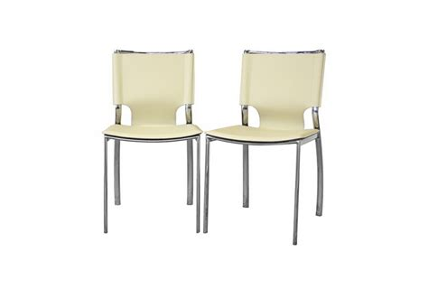 dining room chairs chicago montclare ivory leather modern dining chair chicago